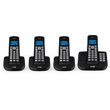 BT 3560 Cordless Home Phone with Nuisance Call Blocking and Answering Machine - Quad