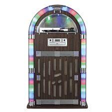 Itek Bluetooth Jukebox with CD Player, Radio and Turntable