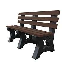 NBB Recycled Multipurpose 3-Seater Bench - Brown