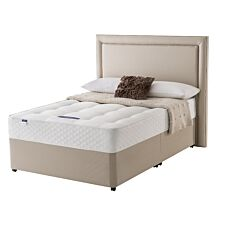 Silentnight Miracoil Ortho Divan Bed - Sandstone