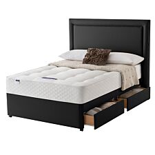 Silentnight Miracoil Ortho 4 Drawer Divan Bed - Ebony
