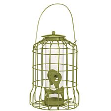 Chapelwood Bird Seed Feeder - Olive Green