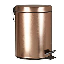 Premier Housewares 3L Pedal Bin - Gold