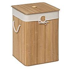 Premier Housewares Kankyo Bamboo Laundry Hamper with Rope Handles - Natural