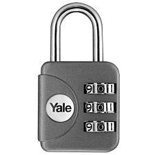 Yale Combination Padlock 28mm - Grey