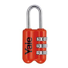 Yale Combination Padlock 23mm - Red