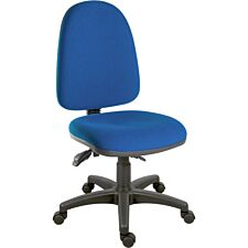 Teknik Ergo Trio Chair - Blue
