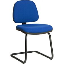 Teknik Ergo Visitor Chair - Blue