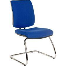 Teknik Ergo Visitor Deluxe Chair - Blue