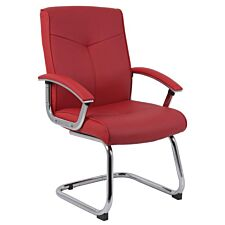 Teknik Hoxton Visitor Chair - Red