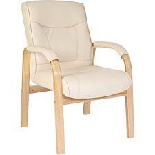 Teknik Knightsbridge Visitor Chair - Cream