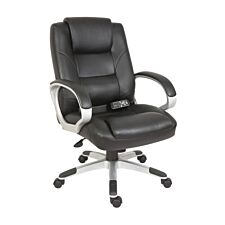 Teknik Lumbar Massage Chair - Black