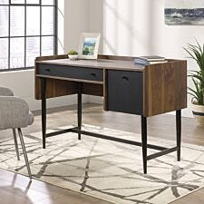 Teknik Hampstead Park Computer Desk - Wood/Black