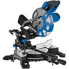 Draper 1500W 230V Sliding Compound Mitre Saw with Laser Cutting Guide