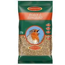 Johnston & Jeff Songbird and Robin Feed Mix - 2kg