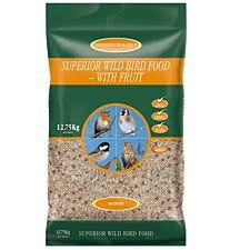 Johnston & Jeff Superior Wild Bird Food with Fruit - 12.75kg