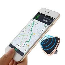 Aquarius In-Car Magnetic Phone Holder - Rose Gold