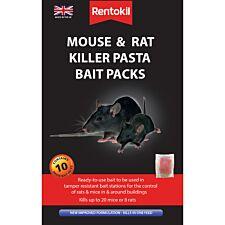 Rentokil Pasta Bait Mouse & Rat Killer - 10 pack
