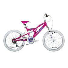 """Flite Spin Girls 20"""" Bike - Pink/White"""