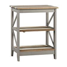 Halea Vintage Three Tier Wide Shelf Unit