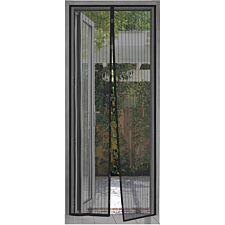 Quest Bug Stop Door Insect Screen - Black