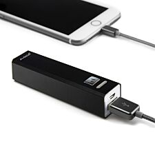 Groov-e Portable Power Stick Charger 2600mAh - Black