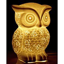 Kids Ceramic Owl Night Light