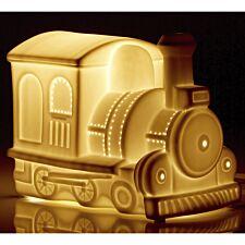 Kids Ceramic Train Night Light