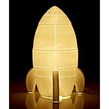 Kids Ceramic Rocket Night Light