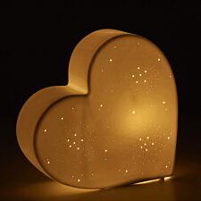 Kids Ceramic Heart Night Light