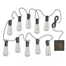 Smart Garden Vintage Solar String Lights