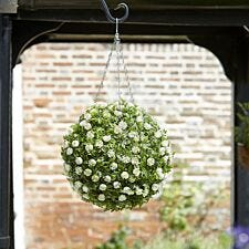 Smart Garden Topiary White Rose Ball - 30cm