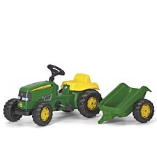 John Deere Kids Tractor and Trailer