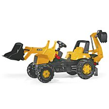 JCB Kids Tractor with Front Loader and Excavator