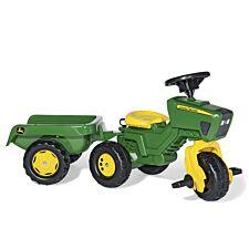 John Deere Kids Trio Tractor and Trailer