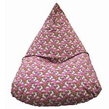Cuddle Bed Large Unicorn Beanbag - Pink