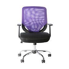 Alphason Atlanta Mesh Office Chair - Purple