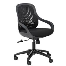 Alphason Croft Operator Chair - Black