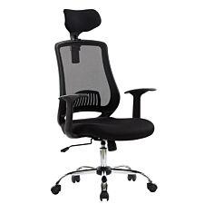 Alphason Florida Mesh High Back Chair - Black