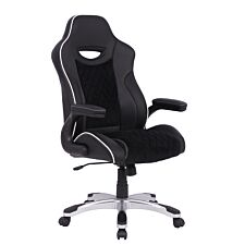 Alphason Silverstone Gaming Chair - Black