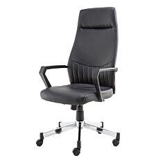 Alphason Brooklyn High Back Chair - Black