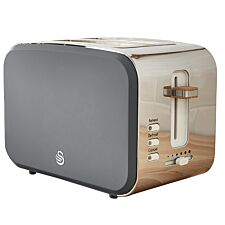 Swan ST14610GRYN Nordic 2 Slice Toaster - Grey
