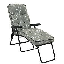 Glendale Deluxe Lounger - Grey