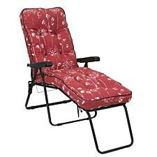 Glendale Deluxe Lounger - Rouge