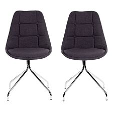Teknik Breakout Chair 2 Pack - Graphite