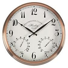 Smart Garden Henley Wall Clock & Thermometer 12in