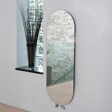 Vetro Soap 1380 x 500 mm Glass Radiator 1651B - Mirror