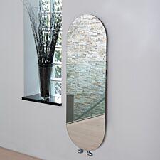 Vetro Soap Electrical 1380 x 500 mm Glass Radiator 700W - Mirror
