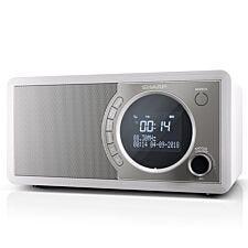 Sharp DAB+ FM Radio with Bluetooth - White