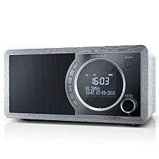 Sharp DAB+ FM Radio with Bluetooth - Grey